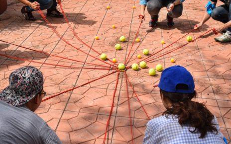 Different team building activities
